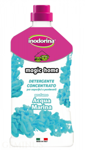 Ind20810 Inodorina Magic Home Aqua Marina- Płyn do Mycia 1litr .